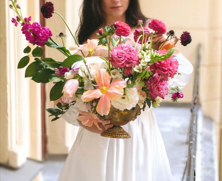 Композиция цветочная на столы