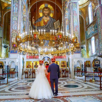 Видеосъёмка венчания