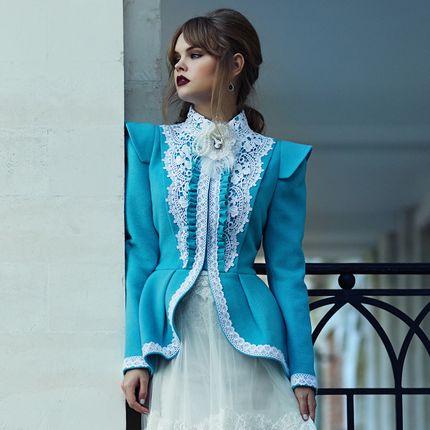 """Пальто для невесты """"Девушка Гибсона"""""""