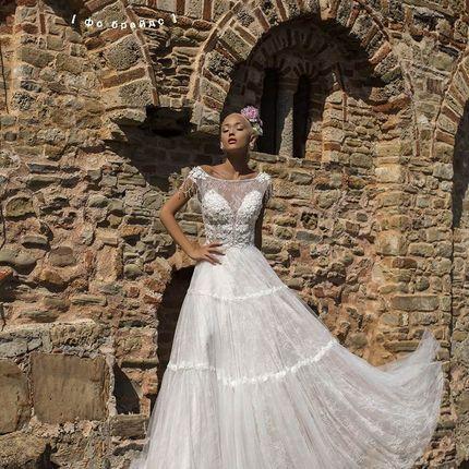Платье А-силуэта Счастливый гиацинт