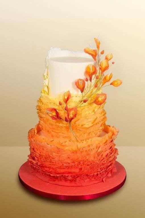 """Фото 16473230 в коллекции Свадебные торты"""" Морковная сладость"""" - Свадебное агентство Monte Carlo"""