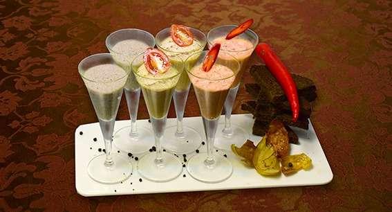 """закуска из паштетов - фото 16057766 Ресторан """"Итальянский дворик - Первый"""""""