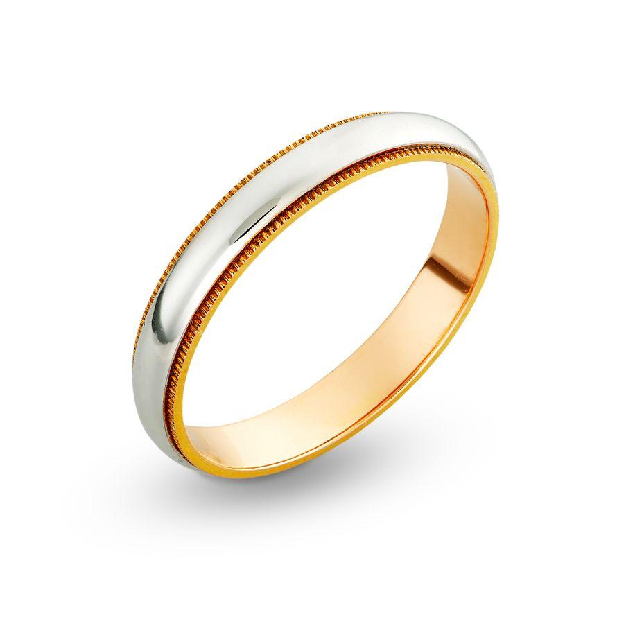 Обручальное кольцо с ювелирной зернью