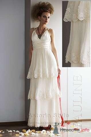 """свадебное платье """"Твиги"""" - фото 1968 Свадебный салон """"Астория стиль"""""""