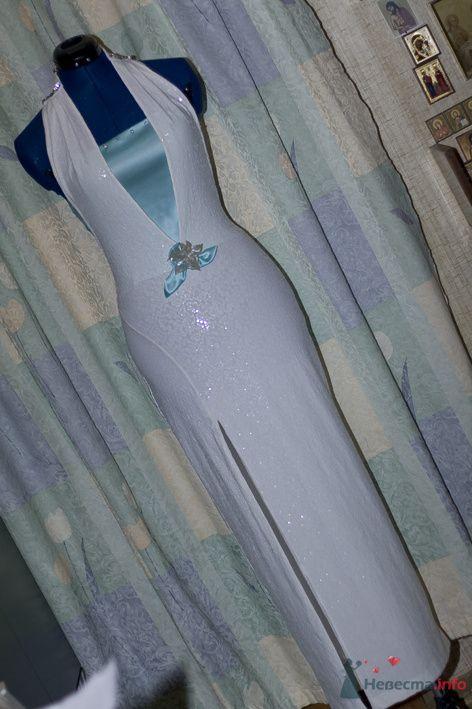 Всё платье в мелких мерцающих чешуйках - фото 72618 Белошвейка