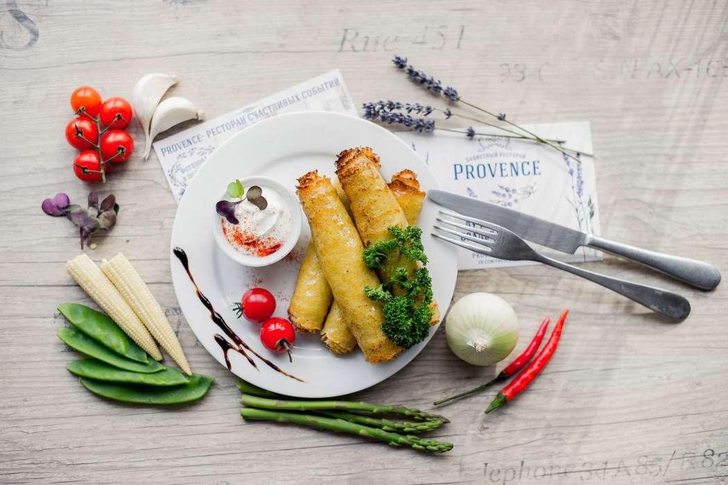 """Блинчики с прованской начинкой - фото 17144574 Банкетный зал """"Provence"""""""
