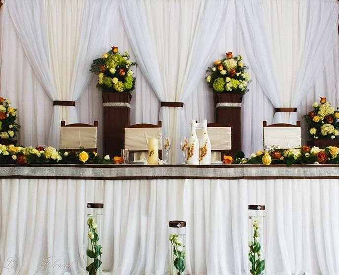 """Декор стола молодых - фото 12376548 Свадебное агентство """"Про-любовь"""""""