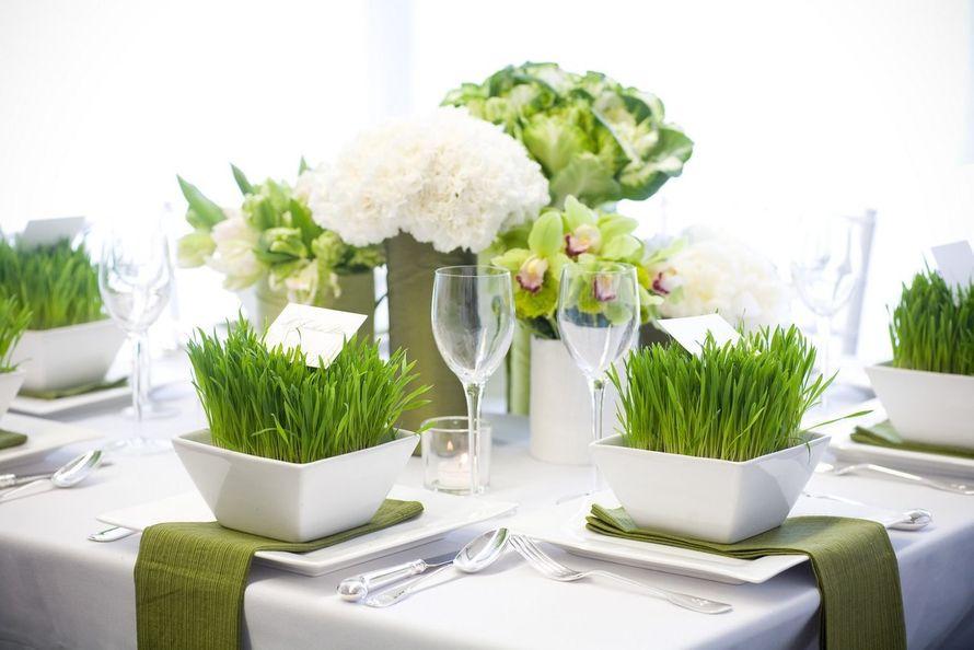 """Цветы на столе - фото 12376582 Свадебное агентство """"Про-любовь"""""""