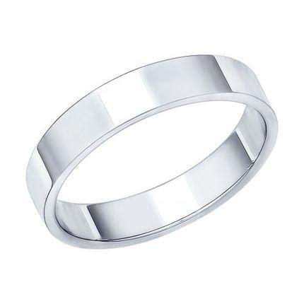 Кольцо 01О020260 из белого золота