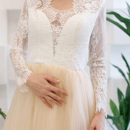 Платье кружево + молния