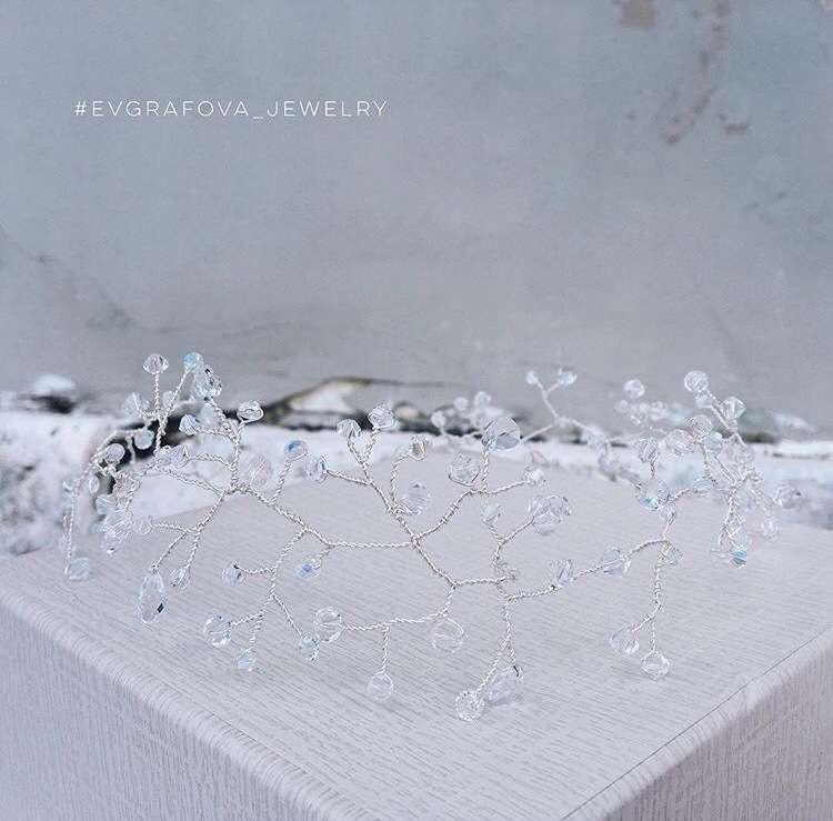 """Фото 16365052 в коллекции Украшения в прическу - Ювелирный салон """"Evgrafova Jewelry"""""""