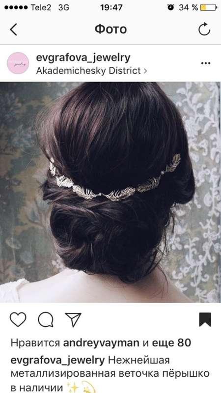 """Фото 16365132 в коллекции Украшения в прическу - Ювелирный салон """"Evgrafova Jewelry"""""""