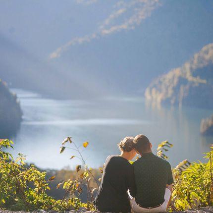 Фотосессия на озере Рица