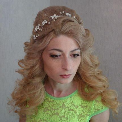 Репетиция причёски + макияж