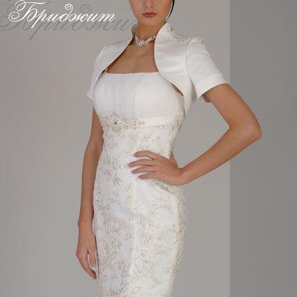 Свадебное платье с болеро Бриджит