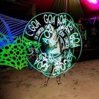 Танцы со световым реквизитом