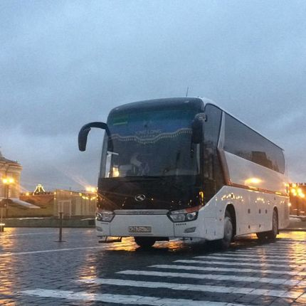Аренда большого автобуса, если много гостей. 52-54 места