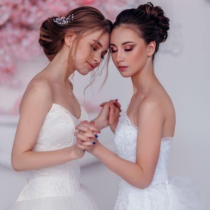 Образ для невесты (макияж + причёска)