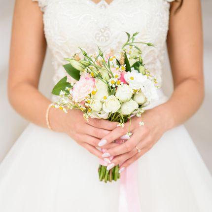 Букет невесты +бутоньерка жениха