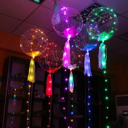 Шары bubbles со светящейся гирляндой, 1 шар