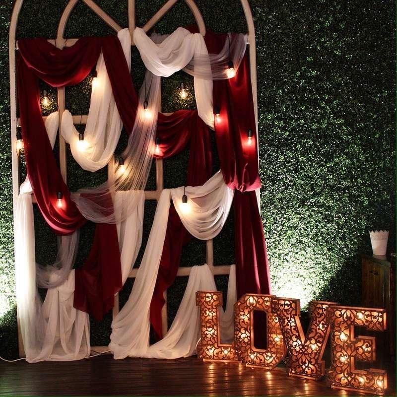 Фотозона - фото 16582514 Wed Magic - студия декора и флористики