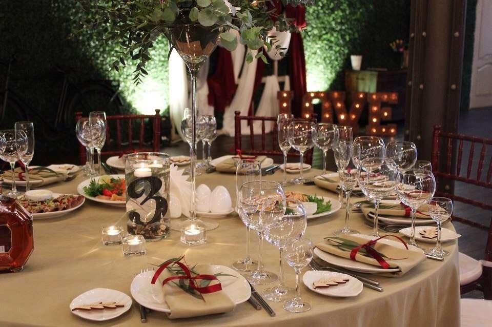 гостевой стол - фото 16582526 Wed Magic - студия декора и флористики