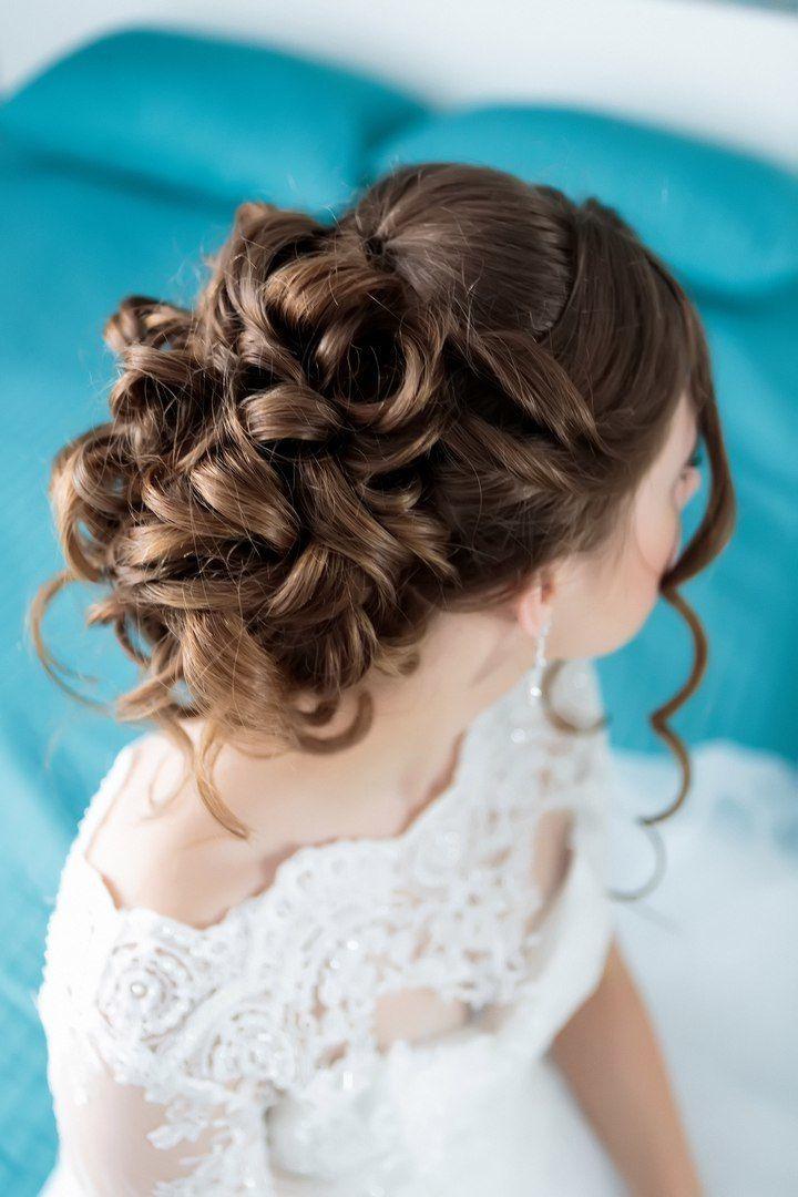 Свадебная прическа - фото 16695242 Визажист Муратова Юлия