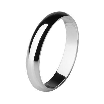 Обручальное кольцо из палладия шириной 4 мм