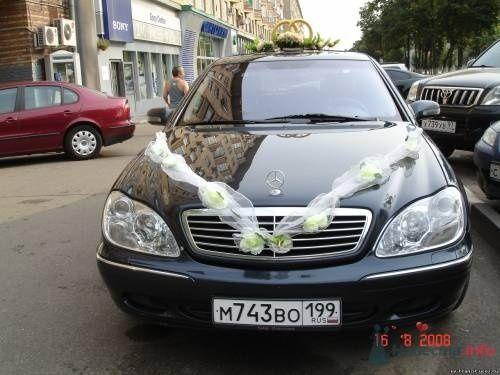 Мерседес  S-500, W-220. Цена 750р/час - фото 67447 Taxi-Tranzit - машины на свадьбу