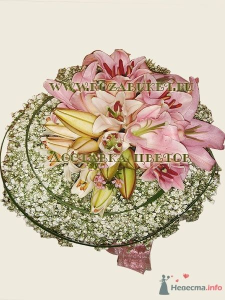 """Букет невесты """"Свадебное гнездышко"""" - фото 45996 Невеста01"""