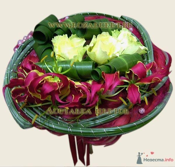 """Букет невесты """"Кармен"""" - для ярких натур - фото 45997 Невеста01"""