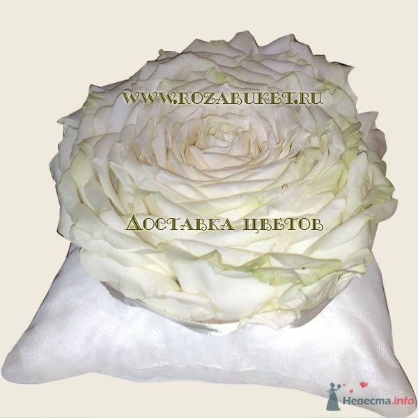 Цветочная подушечка для колец - фото 46008 Невеста01