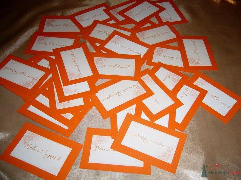 Фото 63400 в коллекции Моя оранжевая свадьба - yanechka
