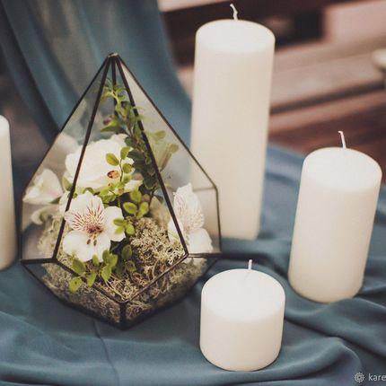 Оформление церемонии геометрическими формами