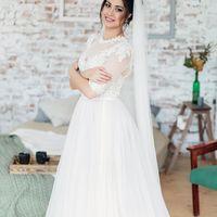 Кружевное свадебное платье цена 8'990 руб
