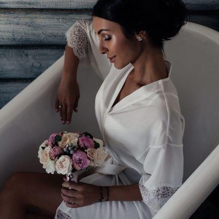 Свадебный образ (причёска + макияж)