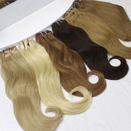 Аренда дополнительных волос на заколках