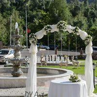 Декор церемонии регистрации брака