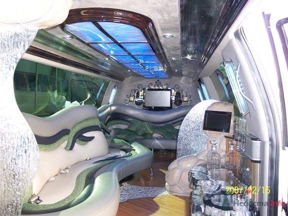 Линкольн Навигатор тандем, салон - фото 48932 Компания Zein LimousineS - прокат авто