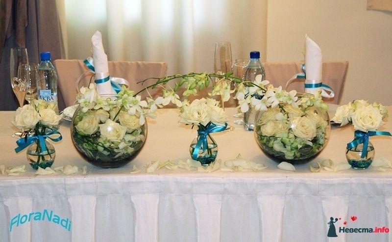 Как украсить стол невесты и жениха своими руками