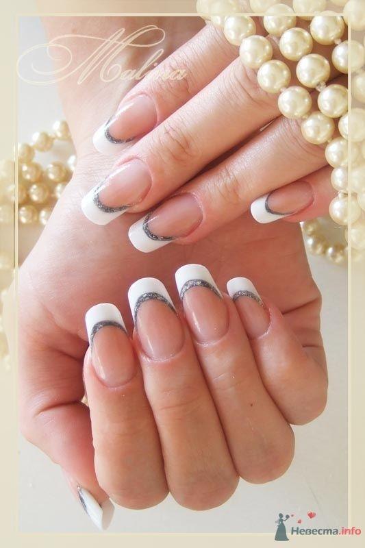 Фото 47110 в коллекции Мои фотографии - Наращивание ногтей - частный мастер Malina