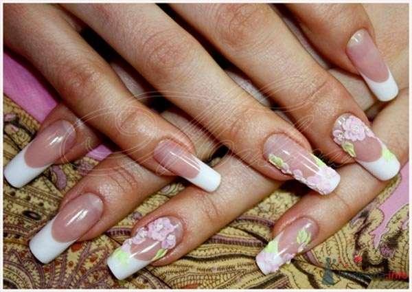 акриловая лепка - фото 47120 Наращивание ногтей - частный мастер Malina