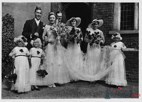 Фото 72978 в коллекции Ретро фото (свадьба) - ВаленТинка:)