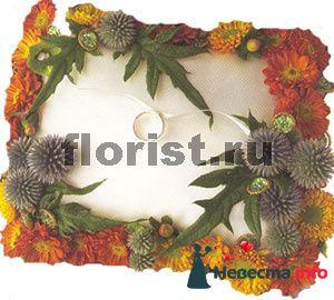 Фото 87278 в коллекции подушечка для колец из живых цветов - ВаленТинка:)