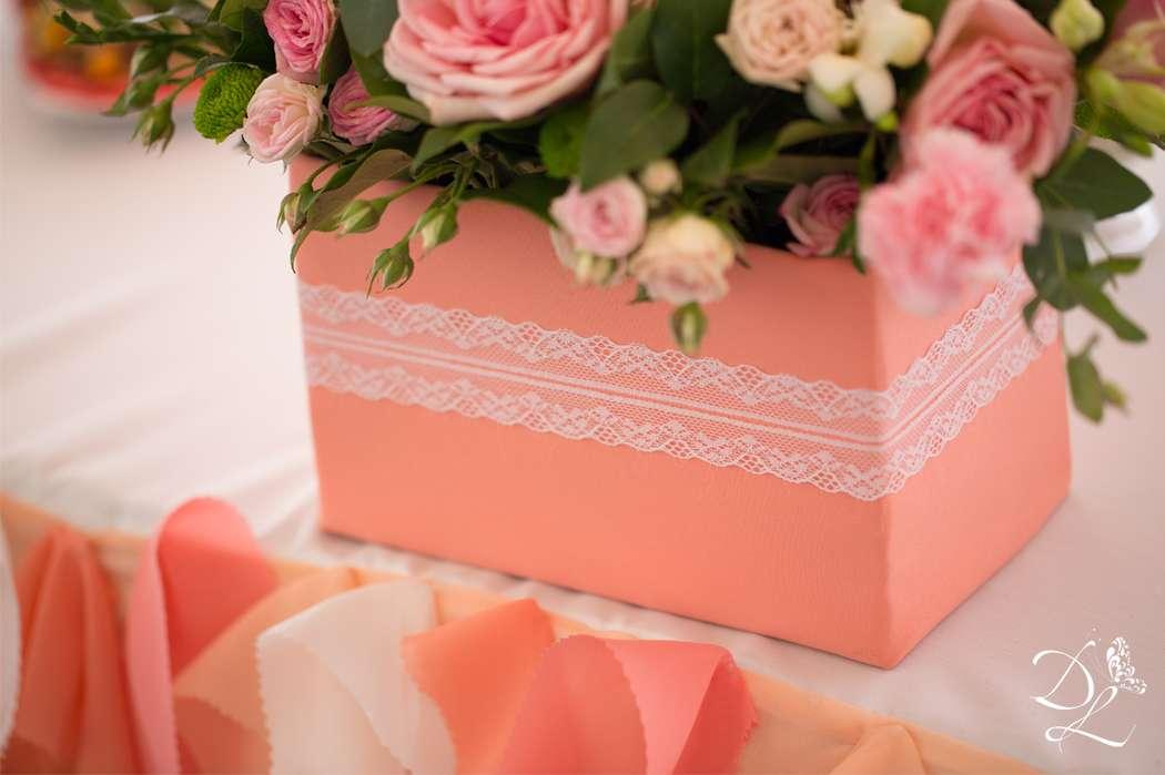 Фото 1354577 в коллекции Свадьба в персиковом цвете - Love Decor - свадебный декор