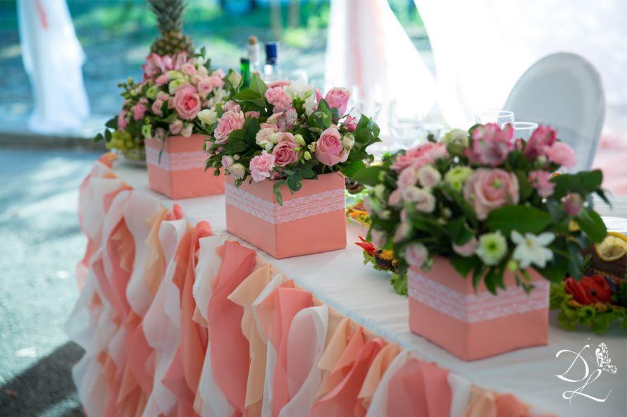 Фото 1354587 в коллекции Свадьба в персиковом цвете - Love Decor - свадебный декор