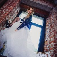 Нестандартный образ невесты, яркий, живой, дерзкий.