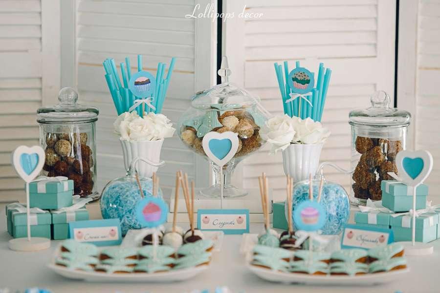 Кенди бар свадьба своими руками голубые тона