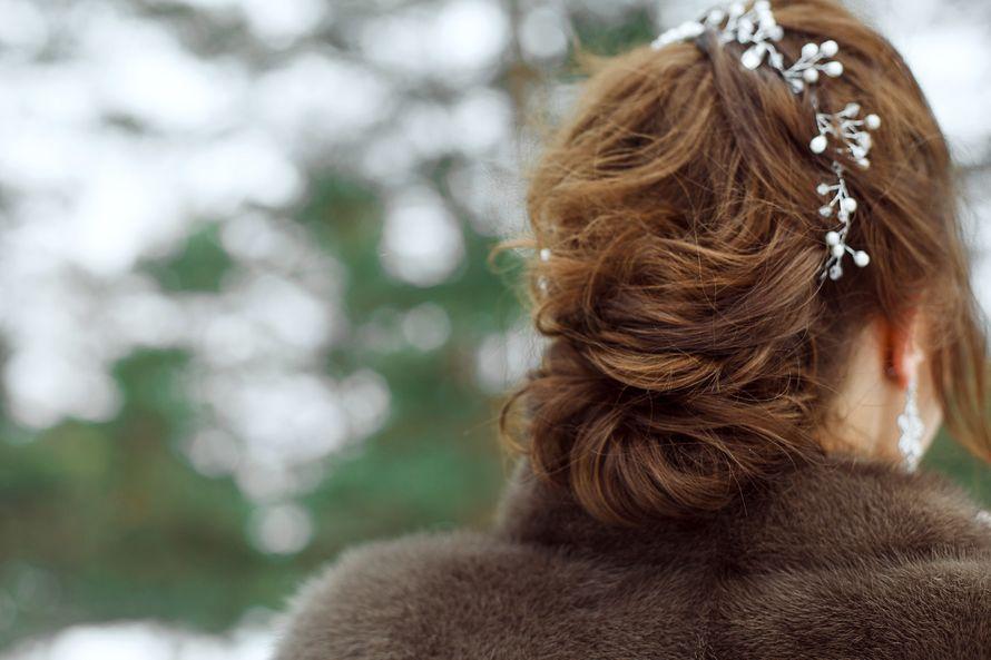 """свадебная прическа - фото 17286302 Студия свадеб """"Трюфель"""""""