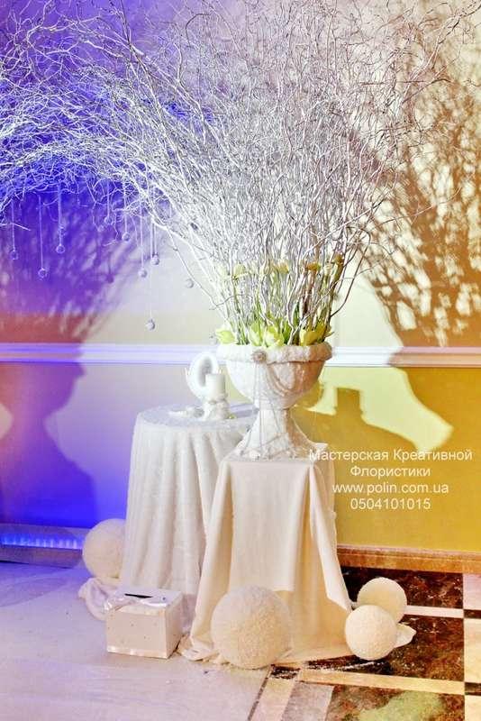 Фото 871199 в коллекции свадебное оформление зала,церемонии - Флорист Полина Школьникова
